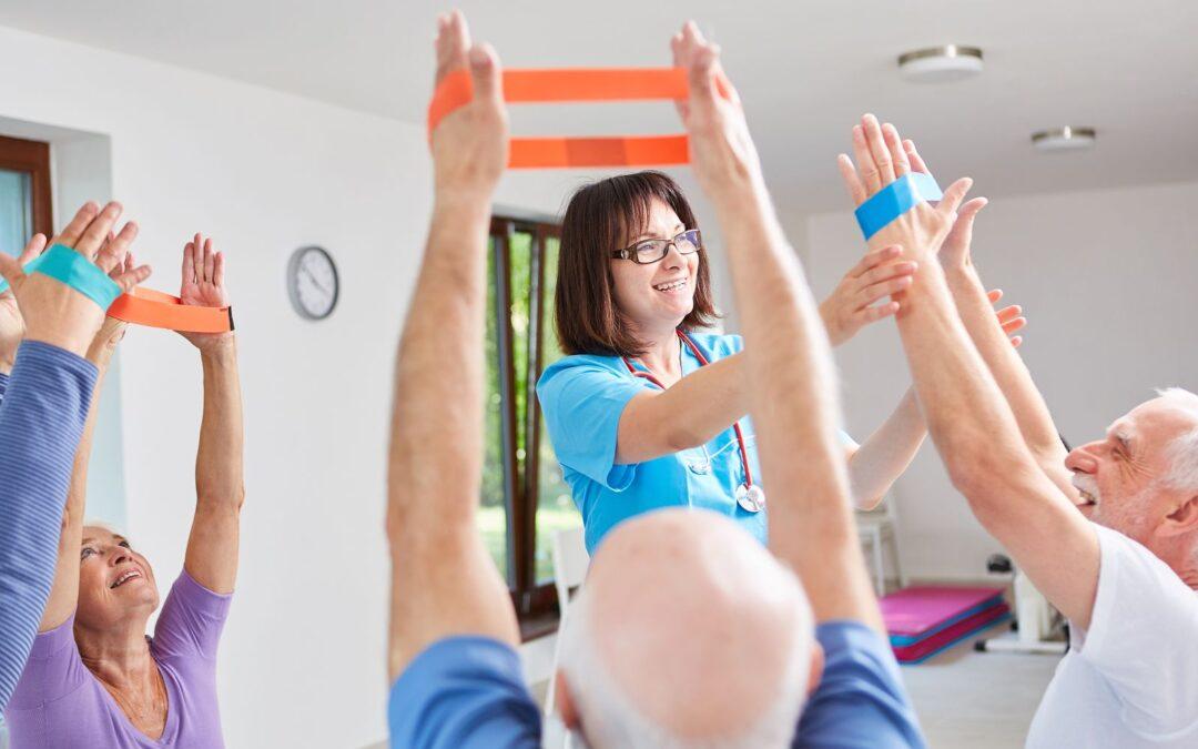 Guía de fisioterapia en la enfermedad de Alzheimer